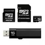 Карты памяти, флешки, HDD