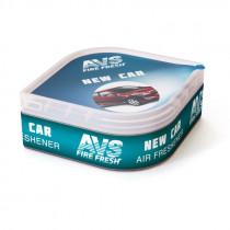 Ароматизатор AVS LGC-005 Fresh Box, Новая машина, 30 гр. (гелевый)