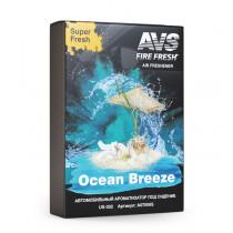 Ароматизатор AVS US-004 Super Fresh, Океанский бриз, 200 гр. (гелевый)