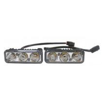 AVS DL-3 Дневные ходовые огни (DRL) (4.5W,3 светодиода х 2шт)