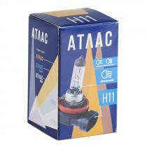 H11 Галогенная лампа АТЛАС (55 Вт/12 В/3300 К)