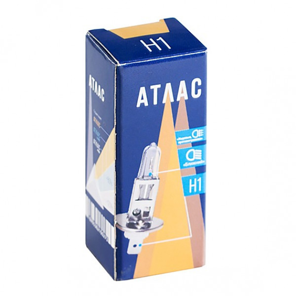 H1 Галогенная лампа АТЛАС (55 Вт/12 В/3300 К)