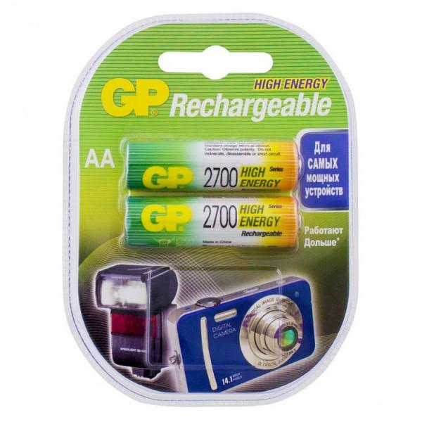 Аккумулятор GP R6 (AA) 2700 мАч 2bl (2.20) пластик