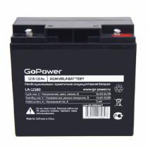 Аккумулятор GoPower 12V  18000 мАч (LA-12180)
