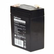 Аккумулятор GoPower 6V  4500 мАч (LA-645/security)