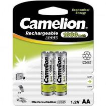 Аккумулятор Camelion R06-2BL, (AA) 1000 мАч, Ni-Cd (24/480)