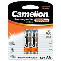 Аккумулятор Camelion R06-2BL, (AA) 1800 мАч, Ni-Mh (24/384)
