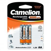 Аккумулятор Camelion R06-2BL, (AA) 2000 мАч, Ni-Mh (24/384)