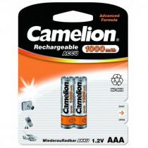 Аккумулятор Camelion R03-2BL, (AAA) 1000 мАч, Ni-Mh, (24/480)