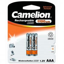 Аккумулятор Camelion R03-2BL, (AAA) 1100 мАч, Ni-Mh, (24/480)