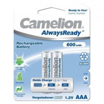 Аккумулятор Camelion R03-2BL, (AAA) 600 мАч, Ni-Mh, Always Ready (24/480)