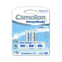 Аккумулятор Camelion R06-2BL, (AA) 2100 мАч, Ni-Mh, Always Ready (24/384)