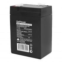 Аккумулятор GoPower 6V  6000 mАч (LA-660)