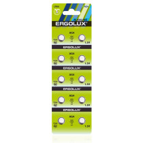 Элем.пит. AG4-10BL Ergolux (LR66 /LR626 /177 /377)