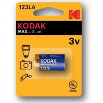 Элем.пит. CR123A-1BL Kodak Max (1/6/12)