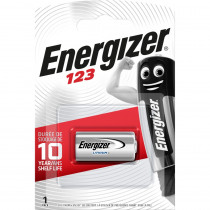 Элем.пит. CR123A-1BL Energizer (1/6/60)