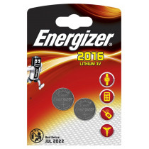 Элем.пит. CR2016-2BL Energizer (20/280)
