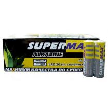 Элем.пит. LR6-2S Supermax (40/800 )