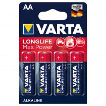Элем.пит. LR6-4BL Varta Longlife Max Power (4/80/400) 4706