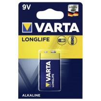 Элем.пит. 6LR61-1BL Varta Longlife (1/10/50) 4122