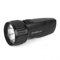 Фонарь ручной аккумуляторный  Ultraflash LED3859, 5 LED, пласт., коробка, (SLA), чёрный