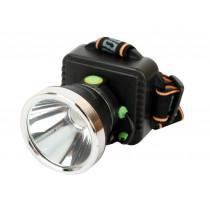 Фонарь налобный  Ultraflash LED5340, 3 Вт LED, 3 режима, пласт. бокс, (3xR6), чёрный