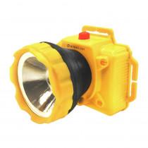 Фонарь налобный  Ultraflash LED53761, 1 Вт LED, 1 режим, пласт. бокс, (3xR6), жёлтый