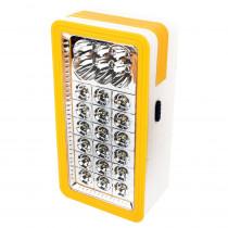 Фонарь кемпинговый  Ultraflash LED56326, 6 + 18 LED, 3 Вт, выдвижная рукоятка, (3хD), бел/жёлтый