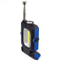 Фонарь ручной  Perfeo PL-602 Spark, LED+COB, 150LM, магнит, синий (3xAAA)