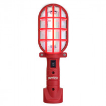 Фонарь кемпинговый  Perfeo PL-603 Spark, COB, 3 Вт, магнит, крючок, красный (3xAAA)