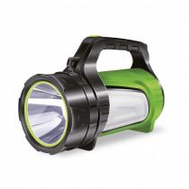 Фонарь-прожектор  Smartbuy SBF-502-K, 5 Вт + 3 Вт, аккумуляторный, чёрный