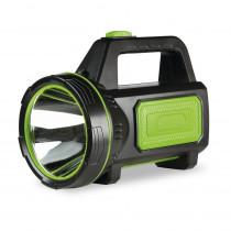 Фонарь-прожектор  Smartbuy SBF-500-K, 5 Вт + 3 Вт, аккумуляторный, чёрный
