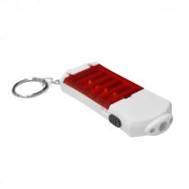 Брелок фонарик 2Led Y-1019/BL-G32  с битами 6шт., цвета в ассортименте