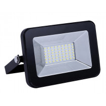 Прожектор Ultraflash LFL-2001 C02 (LED SMD, 20Вт, 230В, 6500K) чёрный