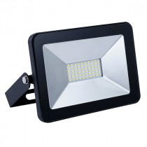 Прожектор Ultraflash LFL-3001 C02 (LED SMD, 30Вт, 230В, 6500K) чёрный