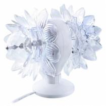 Диско-лампа светодиодная, вращающаяся, двойная Perfeo PL-05S dual lotus
