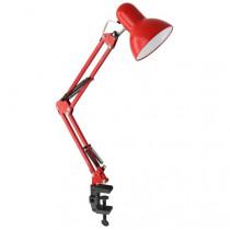 Светильник настольный Ultraflash UF-312P C04, (230V, 60W, E27), красный