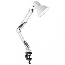 Светильник настольный Ultraflash UF-312P C01, (230V, 60W, E27), белый