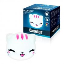 "Ночник Camelion NL-304 ""Киса"" (LED, с выкл., 3xAAA)"