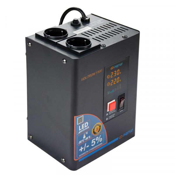 Стабилизаторы напряжения Энергия Voltron 1500, 1500 Вт
