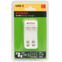 ЗУ Kodak C8001B AA/AAA 2 слота+USB