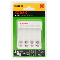 ЗУ Kodak C8002B AA/AAA 4 слота+USB