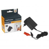 ЗУ GoPower ProLab 6-12 6-12V 1.0A для свинцово-кислотных аккумуляторов (1/100)