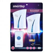 Smartbuy Беспроводной звонок дверной с цифр. код., IP44, 1 кнопка, 2 динамика (SBE-21-DP5-32)
