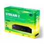 Perfeo STREAM-2 цифровой эфирный ТВ-ресивер DVB-T2/C, Wi-Fi, IPTV, HDMI, 2USB, DolbyDigital, пульт