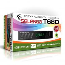 SELENGA T68D цифровой эфирный ТВ-ресивер DVB-T2