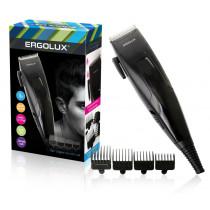 Машинка для стрижки волос ERGOLUX ELX-HC01-C48, 15Вт 220-240В, чёрный