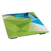 Весы напольные ERGOLUX ELX-SB03-C34 (до180 кг, LED подсветка) абстракция зелено-синяя