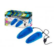 Ergolux ELX-SD02-C06 Сушилка электрическая для обуви (10 Вт, 220-240 В), синяя