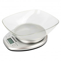 Весы кухонные ERGOLUX SK04-C03 (до 5 кг со съемной чашей) серые